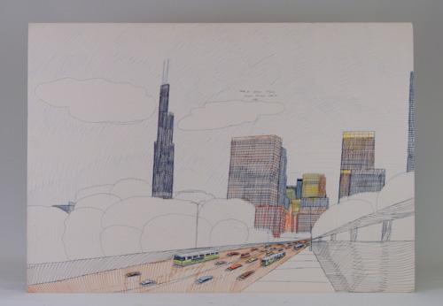 wesley willis drawing