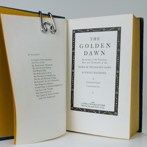 golden dawn inside cover