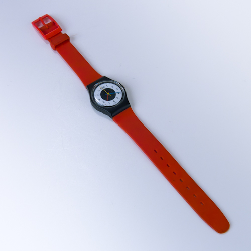 Vintage Swatch Watch 1984 Chrono-Tech