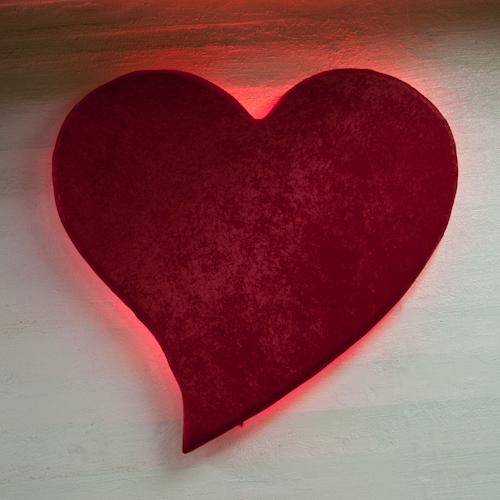 velvet Neon Heart