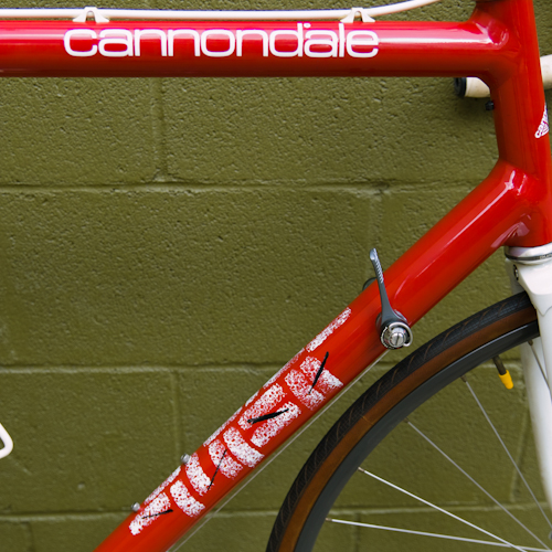 sr2000 cannondale paint job