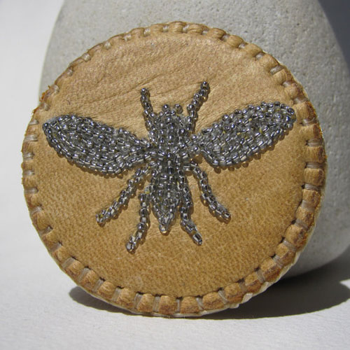 Bee Pin-Brooch