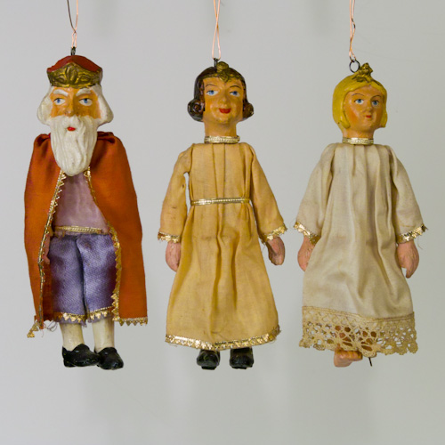 Vintage European Christmas Ornaments