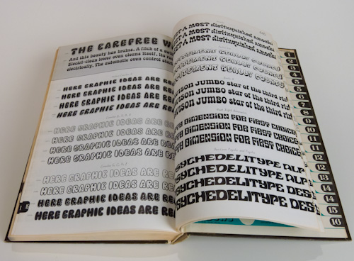 Alphabet Thesaurus Vol. 3 Photo-Lettering Inc inside