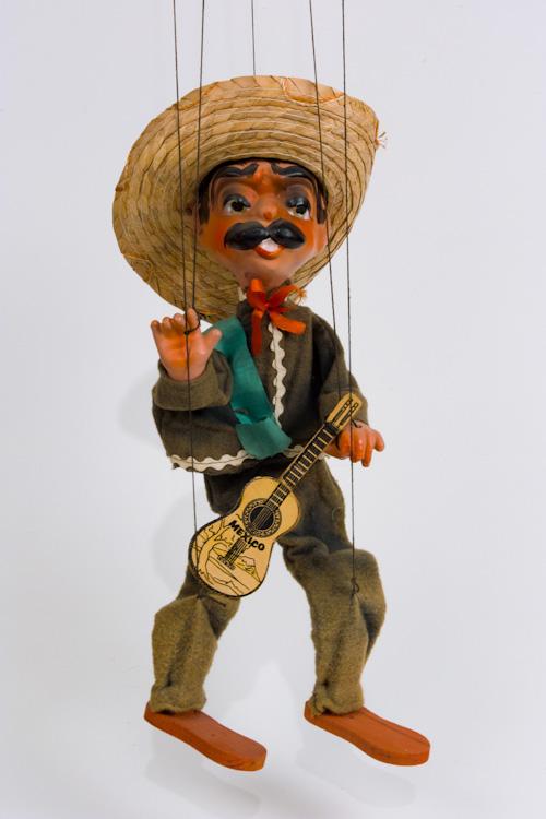mexican man puppet