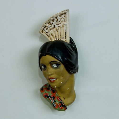 mexican lady chalkware