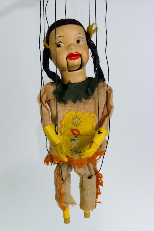 Princess winter spring summer fall puppet