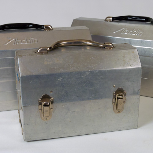 industrial excelsior aluminum lunch box