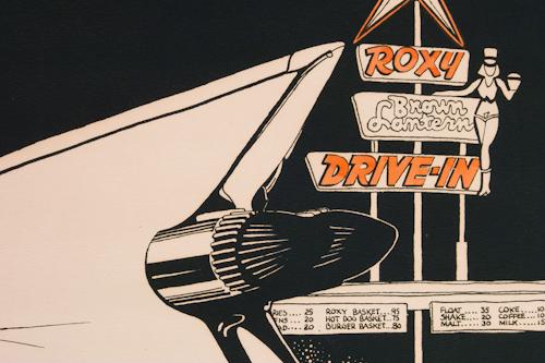 rocky Ferris roxy drive-in 2