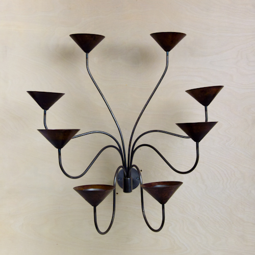 Contemporary Tea Light Candle Holder Sconce