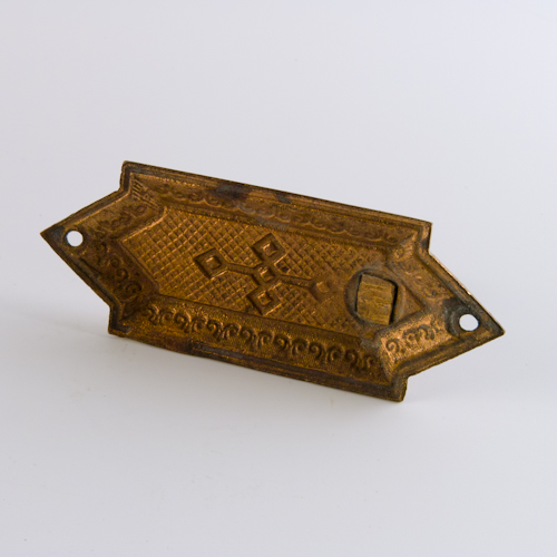 Vintage Eastlake Victorian Era Brass Drapery Hardware Tie Backs