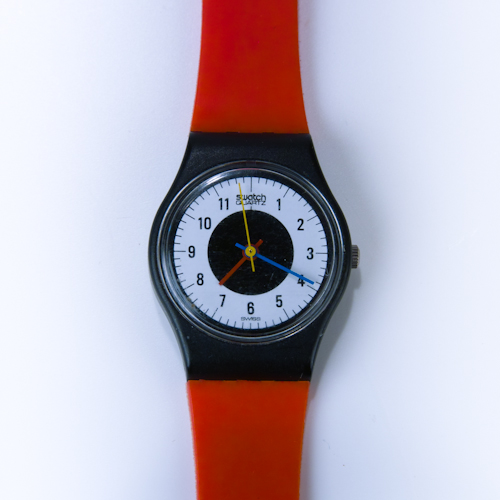 Vintage Swatch Watch 1984 Chrono-Tech Swatch Rare